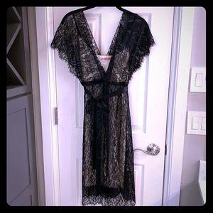 Velvet Brand Lace Dress with Slip